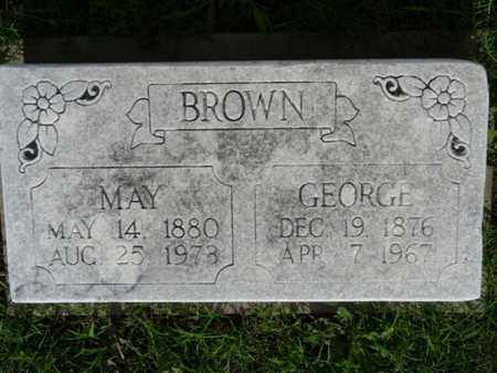 BROWN, MAY - Osage County, Oklahoma | MAY BROWN - Oklahoma Gravestone Photos