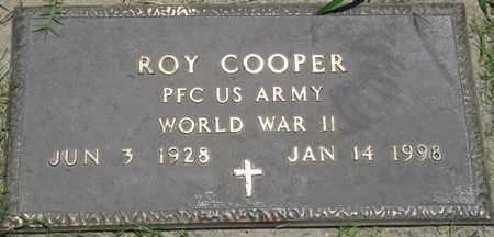 COOPER (VETERAN WWII), ROY - Osage County, Oklahoma | ROY COOPER (VETERAN WWII) - Oklahoma Gravestone Photos
