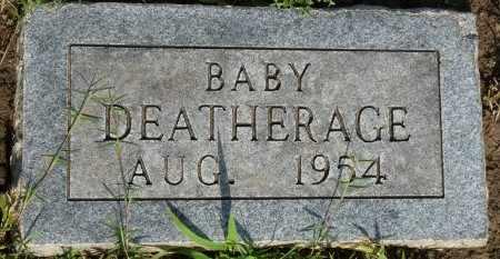 DEATHERAGE, INFANT - Osage County, Oklahoma | INFANT DEATHERAGE - Oklahoma Gravestone Photos