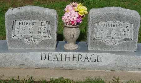 DEATHERAGE, ROBERT EUGENE - Osage County, Oklahoma   ROBERT EUGENE DEATHERAGE - Oklahoma Gravestone Photos