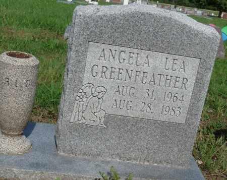 GREENFEATHER, ANGELA LEA - Osage County, Oklahoma   ANGELA LEA GREENFEATHER - Oklahoma Gravestone Photos