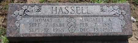 HASSELL, THOMAS J - Osage County, Oklahoma | THOMAS J HASSELL - Oklahoma Gravestone Photos