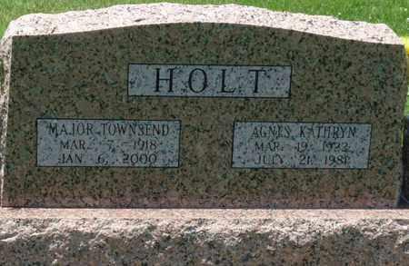 HOLT, MAJOR TOWNSEND - Osage County, Oklahoma | MAJOR TOWNSEND HOLT - Oklahoma Gravestone Photos