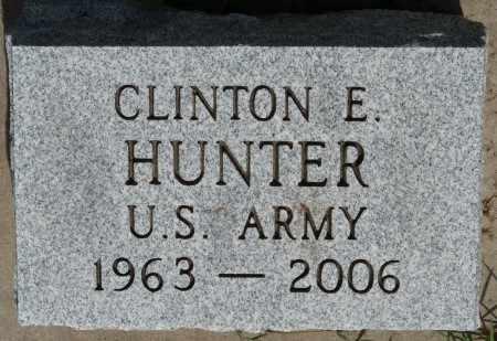 HUNTER (VETERAN), CLINTON E - Osage County, Oklahoma   CLINTON E HUNTER (VETERAN) - Oklahoma Gravestone Photos