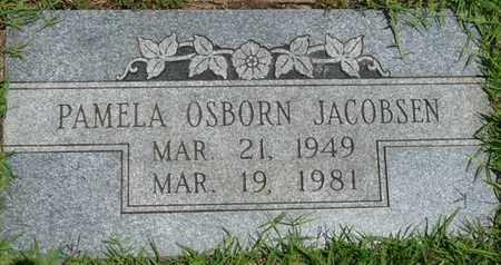 OSBORN JACOBSEN, PAMELA - Osage County, Oklahoma | PAMELA OSBORN JACOBSEN - Oklahoma Gravestone Photos