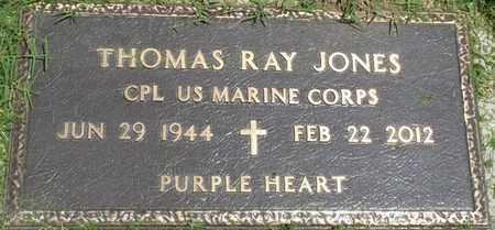 JONES (VETERAN), THOMAS RAY - Osage County, Oklahoma   THOMAS RAY JONES (VETERAN) - Oklahoma Gravestone Photos