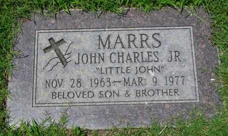 "MARRS JR., JOHN CHARLES ""LITTLE JOHN"" - Osage County, Oklahoma 