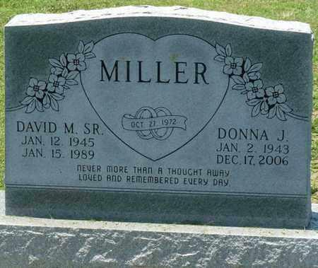 MILLER, DONNA J - Osage County, Oklahoma | DONNA J MILLER - Oklahoma Gravestone Photos