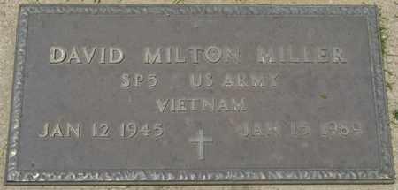 MILLER SR. (VETERAN VIETNAM), DAVID MILTON - Osage County, Oklahoma   DAVID MILTON MILLER SR. (VETERAN VIETNAM) - Oklahoma Gravestone Photos