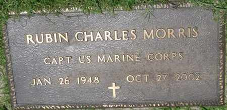 MORRIS (VETERAN), RUBIN CHARLES - Osage County, Oklahoma | RUBIN CHARLES MORRIS (VETERAN) - Oklahoma Gravestone Photos