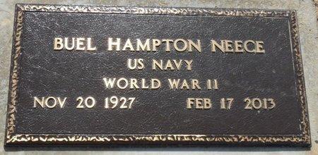 NEECE (VETERAN WWII), BUEL HAMPTON - Osage County, Oklahoma | BUEL HAMPTON NEECE (VETERAN WWII) - Oklahoma Gravestone Photos