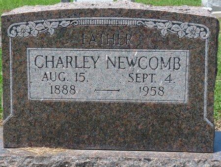 NEWCOMB, CHARLEY - Osage County, Oklahoma | CHARLEY NEWCOMB - Oklahoma Gravestone Photos