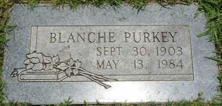 PURKEY, BLANCHE - Osage County, Oklahoma | BLANCHE PURKEY - Oklahoma Gravestone Photos