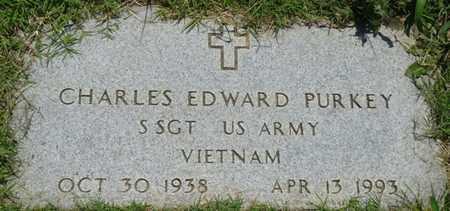 PURKEY (VETERAN VIETNAM), CHARLES EDWARD - Osage County, Oklahoma | CHARLES EDWARD PURKEY (VETERAN VIETNAM) - Oklahoma Gravestone Photos