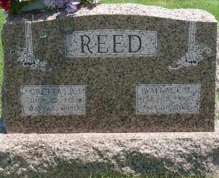 REED, WALLACE F - Osage County, Oklahoma | WALLACE F REED - Oklahoma Gravestone Photos