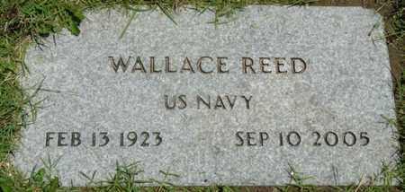 REED (VETERAN), WALLACE - Osage County, Oklahoma | WALLACE REED (VETERAN) - Oklahoma Gravestone Photos