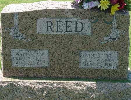 REED, VIOLA M - Osage County, Oklahoma   VIOLA M REED - Oklahoma Gravestone Photos