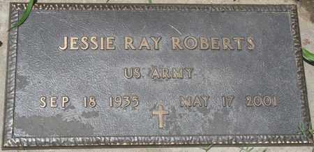 ROBERTS (VETERAN), JESSIE RAY - Osage County, Oklahoma | JESSIE RAY ROBERTS (VETERAN) - Oklahoma Gravestone Photos