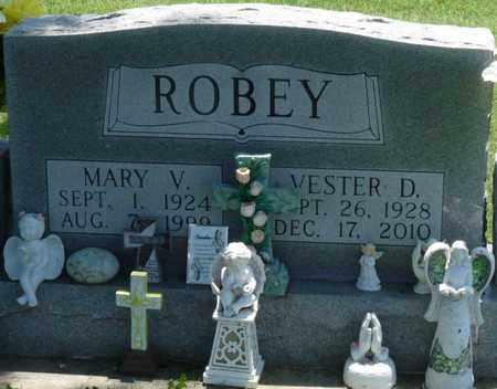 ROBEY, VESTER D - Osage County, Oklahoma | VESTER D ROBEY - Oklahoma Gravestone Photos