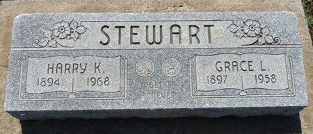 STEWART, GRACE L - Osage County, Oklahoma   GRACE L STEWART - Oklahoma Gravestone Photos