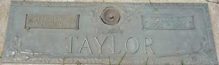 TAYLOR, OLLIE E - Osage County, Oklahoma | OLLIE E TAYLOR - Oklahoma Gravestone Photos