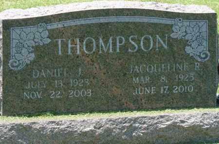 THOMPSON, DANIEL J - Osage County, Oklahoma | DANIEL J THOMPSON - Oklahoma Gravestone Photos
