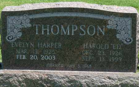 THOMPSON, EVELYN - Osage County, Oklahoma | EVELYN THOMPSON - Oklahoma Gravestone Photos