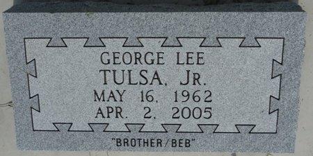 TULSA JR., GEORGE LEE - Osage County, Oklahoma   GEORGE LEE TULSA JR. - Oklahoma Gravestone Photos