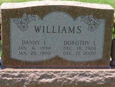 WILLIAMS, DANNY LEON - Osage County, Oklahoma   DANNY LEON WILLIAMS - Oklahoma Gravestone Photos