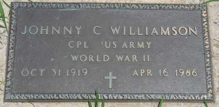 WILLIAMSON (VETERAN WWII), JOHNNY C - Osage County, Oklahoma | JOHNNY C WILLIAMSON (VETERAN WWII) - Oklahoma Gravestone Photos