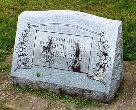 DAVIS ARMSTRONG, ELIZABETH - Ottawa County, Oklahoma | ELIZABETH DAVIS ARMSTRONG - Oklahoma Gravestone Photos