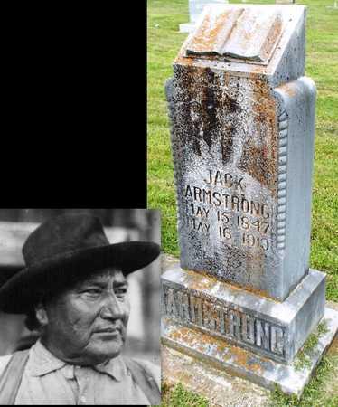 ARMSTRONG, JACK JR - Ottawa County, Oklahoma | JACK JR ARMSTRONG - Oklahoma Gravestone Photos