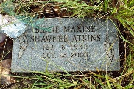 ATKINS, BILLIE MAXINE - Ottawa County, Oklahoma   BILLIE MAXINE ATKINS - Oklahoma Gravestone Photos