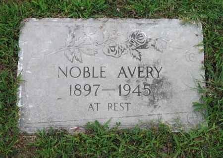 AVERY, NOBEL - Ottawa County, Oklahoma | NOBEL AVERY - Oklahoma Gravestone Photos