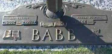 BABB, LEE TALBOT - Ottawa County, Oklahoma | LEE TALBOT BABB - Oklahoma Gravestone Photos