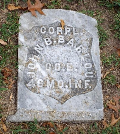 BARLOW (VETERAN CW), JOHN B - Ottawa County, Oklahoma   JOHN B BARLOW (VETERAN CW) - Oklahoma Gravestone Photos