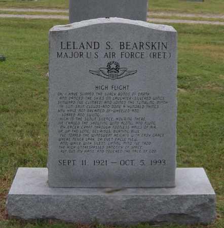 BEARSKIN (VETERAN), LELAND S - Ottawa County, Oklahoma | LELAND S BEARSKIN (VETERAN) - Oklahoma Gravestone Photos