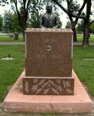 BEAVER, JOHN - Ottawa County, Oklahoma   JOHN BEAVER - Oklahoma Gravestone Photos