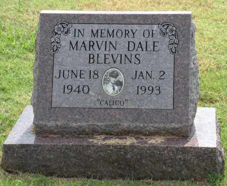 """BLEVINS, MARVIN DALE """"CALICO"""" - Ottawa County, Oklahoma 