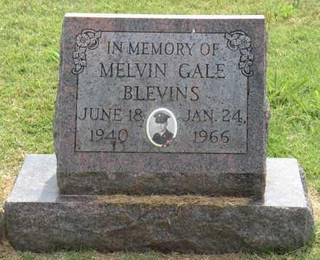 BLEVINS, MELVIN GALE - Ottawa County, Oklahoma   MELVIN GALE BLEVINS - Oklahoma Gravestone Photos