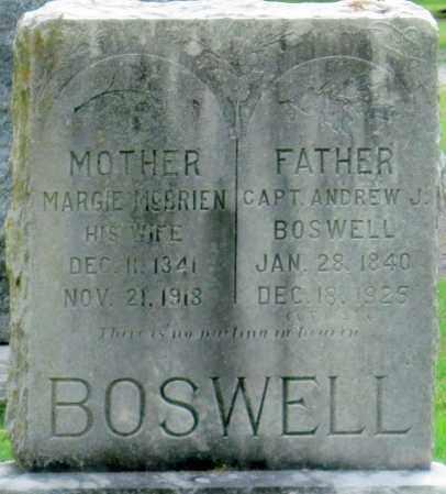 BOSWELL, MARGIE - Ottawa County, Oklahoma | MARGIE BOSWELL - Oklahoma Gravestone Photos