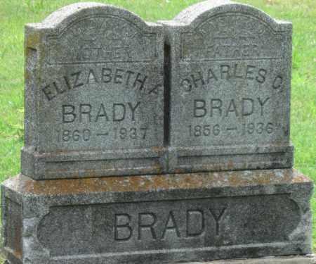 BRADY, CHARLES C - Ottawa County, Oklahoma | CHARLES C BRADY - Oklahoma Gravestone Photos