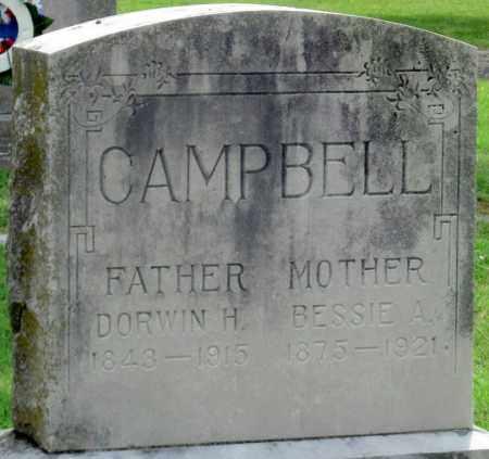 CAMPBELL, DORWIN H - Ottawa County, Oklahoma   DORWIN H CAMPBELL - Oklahoma Gravestone Photos