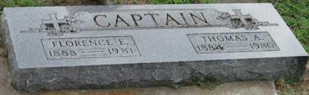 CAPTAIN, CHIEF THOMAS A - Ottawa County, Oklahoma | CHIEF THOMAS A CAPTAIN - Oklahoma Gravestone Photos