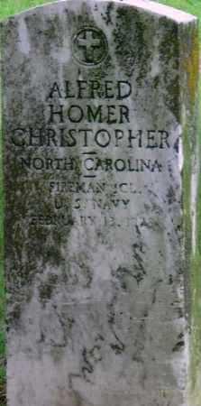 CHRISTOPHER (VETERAN WWI), ALFRED HOMER - Ottawa County, Oklahoma | ALFRED HOMER CHRISTOPHER (VETERAN WWI) - Oklahoma Gravestone Photos