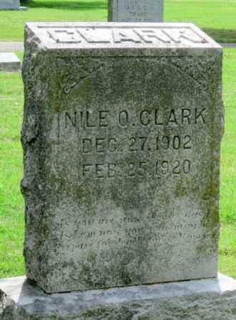 CLARK, NILE O - Ottawa County, Oklahoma   NILE O CLARK - Oklahoma Gravestone Photos