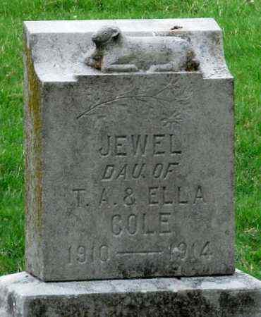 COLE, JEWELL - Ottawa County, Oklahoma   JEWELL COLE - Oklahoma Gravestone Photos