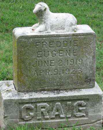 CRAIG, FREDDIE EUGENE - Ottawa County, Oklahoma | FREDDIE EUGENE CRAIG - Oklahoma Gravestone Photos