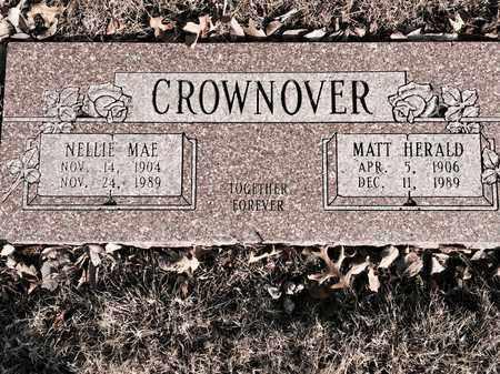 CROWNOVER, NELLIE MAE - Ottawa County, Oklahoma | NELLIE MAE CROWNOVER - Oklahoma Gravestone Photos