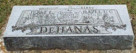 ULREY DEHANAS, HAZEL CLARA - Ottawa County, Oklahoma | HAZEL CLARA ULREY DEHANAS - Oklahoma Gravestone Photos